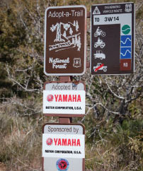 Trail Development, Restoration, Maintenance, Signage and Maps