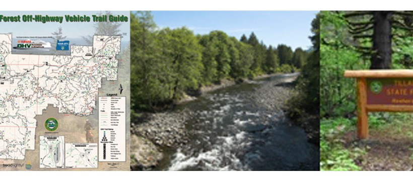 The Tillamook State Forest Off-Highway Vehicle Trail Guide